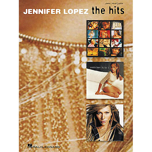 Hal Leonard Jennifer Lopez - The Hits Piano, Vocal, Guitar Songbook-thumbnail