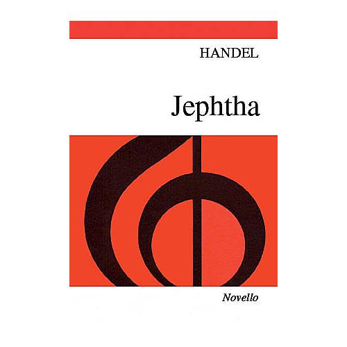 Novello Jephtha SATB
