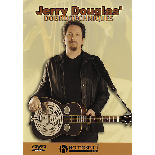 Homespun Jerry Douglas' Dobro Techniques (DVD)-thumbnail