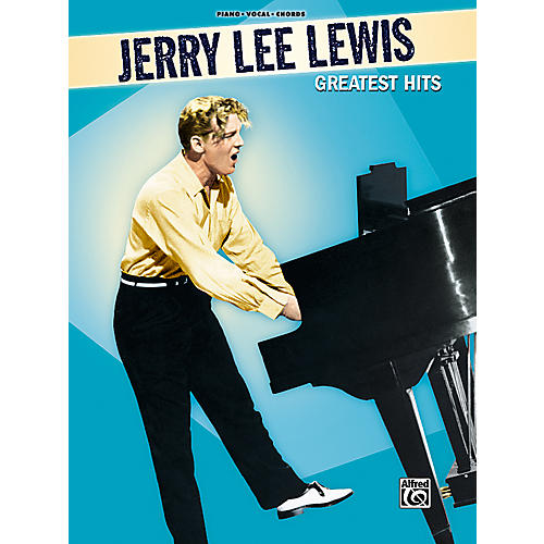Alfred Jerry Lee Lewis Greatest Hits Piano, Vocal, Guitar Songbook-thumbnail