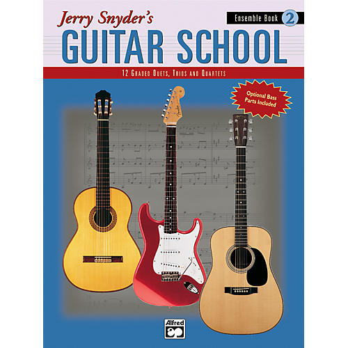 Alfred Jerry Snyder's Guitar School Ensemble Book 2-thumbnail