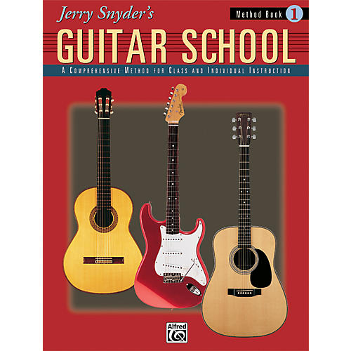 Alfred Jerry Snyder's Guitar School Method Book 1 Book-thumbnail