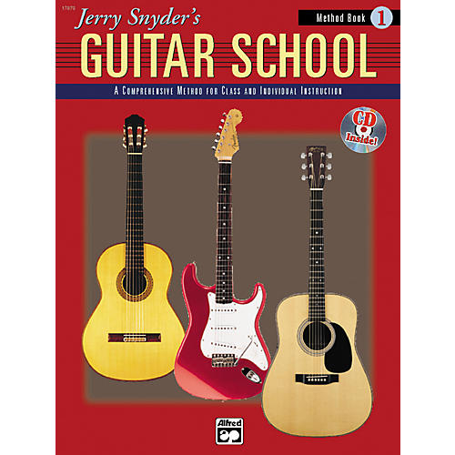 Alfred Jerry Snyder's Guitar School Method Book 1