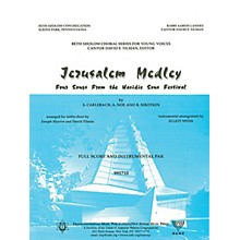 Transcontinental Music Jerusalem Medley (Instrumental Pak) Combo Parts arranged by Elliot Weiss