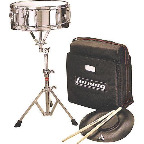 Ludwig Jet Pak Snare Drum Kit Concert Drums
