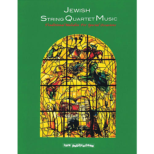 Tara Publications Jewish String Quartet Music Tara Books Series Softcover with CD