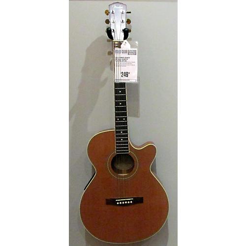 used fender jg26sce acoustic electric guitar natural guitar center. Black Bedroom Furniture Sets. Home Design Ideas