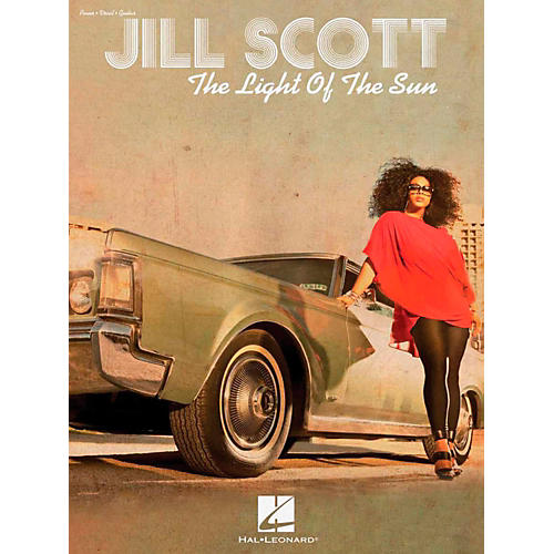 Hal Leonard Jill Scott - The Light Of The Sun Piano/Vocal/Guitar Songbook