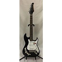 Silvertone Jim Beam Ltd. Ed S-style Solid Body Electric Guitar