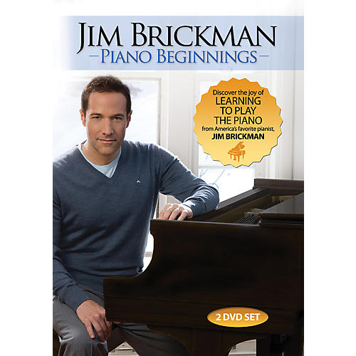 Alfred Jim Brickman Piano Beginnings 2 DVDs-thumbnail