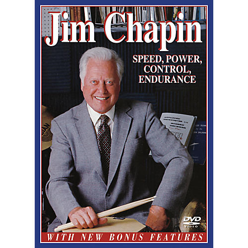Alfred Jim Chapin - Speed, Power, Control, Endurance (DVD)-thumbnail