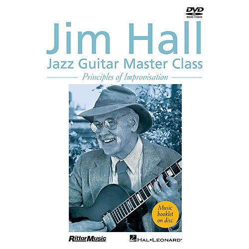 Rittor Music Jim Hall - Jazz Guitar Master Class (Principles of Improvisation) DVD Series DVD Performed by Jim Hall