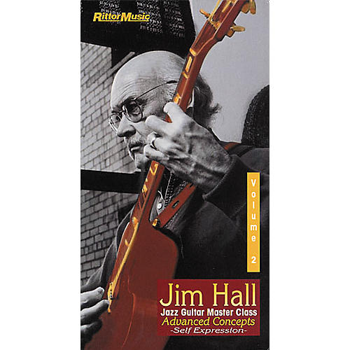 Rittor Music Jim Hall - Jazz Guitar Master Class Volume 2 (VHS)