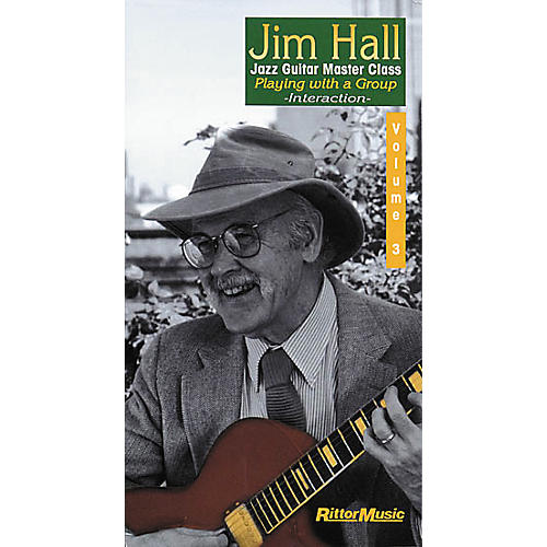 Rittor Music Jim Hall - Jazz Guitar Master Class Volume 3 (VHS)