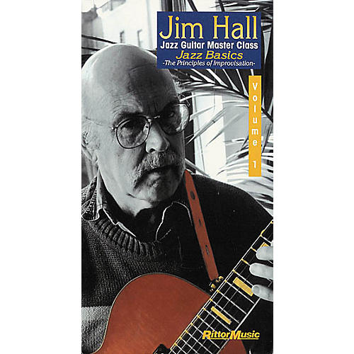 Rittor Music Jim Hall Jazz Guitar Master Class - Volume 1: Jazz Basics (VHS)