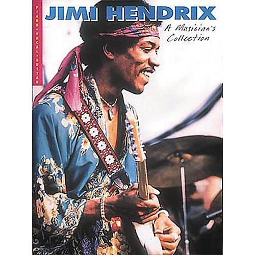 Hal Leonard Jimi Hendrix - A Musician's Collection Piano, Vocal, Guitar Songbook-thumbnail