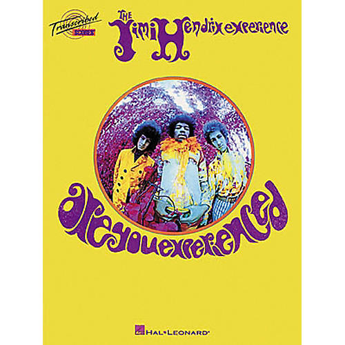 Hal Leonard Jimi Hendrix - Are You Experienced Transcribed Scores Book-thumbnail