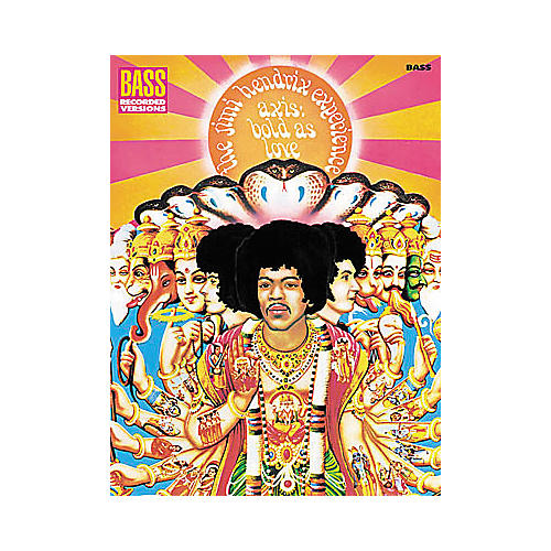 Hal Leonard Jimi Hendrix - Axis: Bold As Love Bass Tab Book-thumbnail