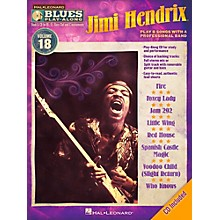 Hal Leonard Jimi Hendrix - Blues Play-Along Volume 18 Book/CD