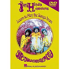 Hal Leonard Jimi Hendrix - Learn to Play the Songs from Are You Experienced DVD