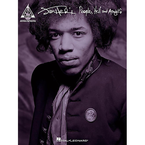 Hal Leonard Jimi Hendrix - People Hell And Angels Guitar Tab Songbook