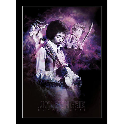 Ace Framing Jimi Hendrix - Purple Haze Smoke 24x36 Poster