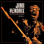 Browntrout Publishing Jimi Hendrix 2016 Calendar Square 12 x 12 In.