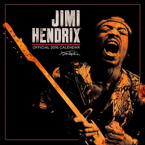 Browntrout Publishing Jimi Hendrix 2016 Calendar Square 12 x 12 In.