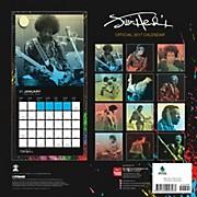 Browntrout Publishing Jimi Hendrix 2017 Pyramid Calendar
