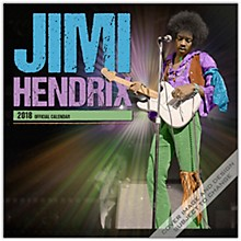 Browntrout Publishing Jimi Hendrix 2018 Wall Calendar