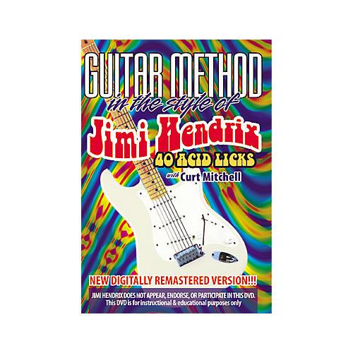 MVP Jimi Hendrix 40 Acid Licks (DVD)