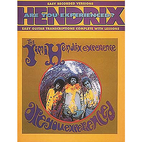 Hal Leonard Jimi Hendrix Are You Experienced? Easy Guitar Tab Songbook with Lessons-thumbnail