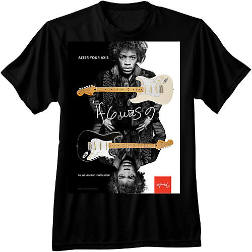 Fender Jimi Hendrix Collection Alter Your Axis T-Shirt-thumbnail