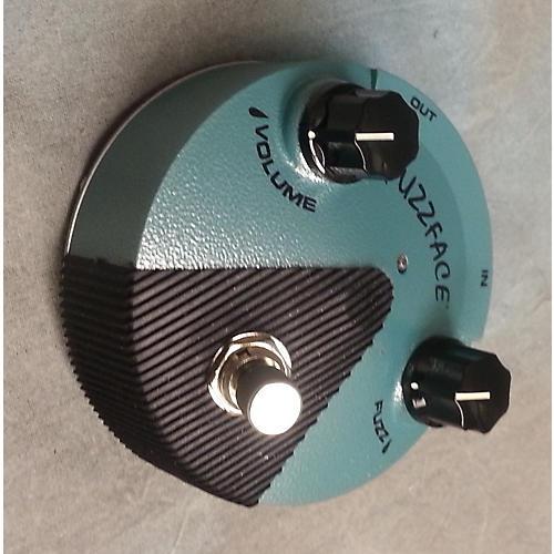 Dunlop Jimi Hendrix Fuzz Face Mini Turquoise Effect Pedal-thumbnail