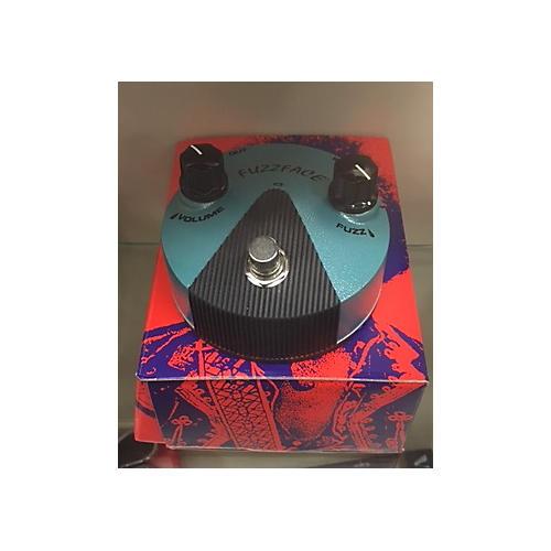 Dunlop Jimi Hendrix Fuzz Face Mini Turquoise Effect Pedal