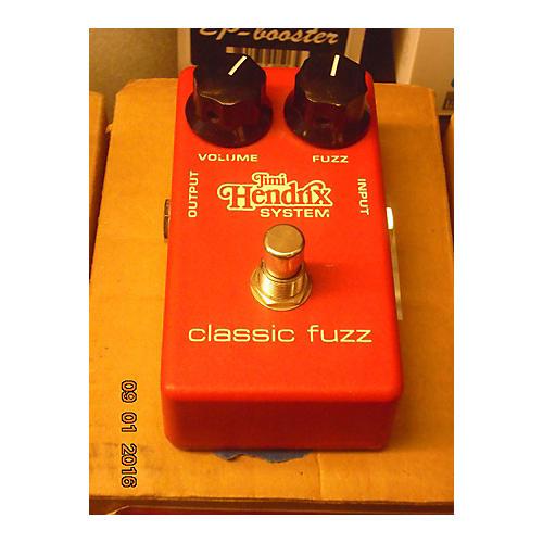 Dunlop Jimi Hendrix JH2S Classic Fuzz Effect Pedal-thumbnail