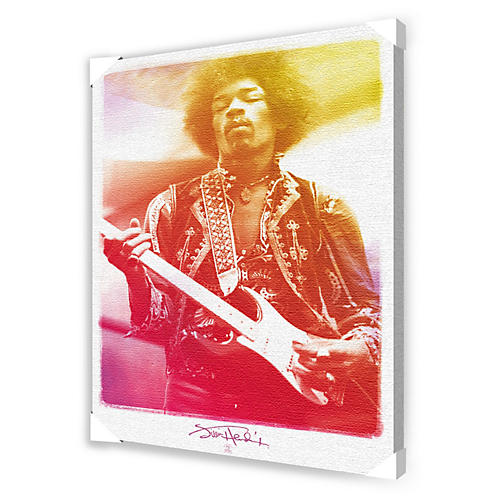 Ace Framing Jimi Hendrix Legendary Framed Artwork
