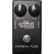 MXR Jimi Hendrix Octave Fuzz Effect Pedal