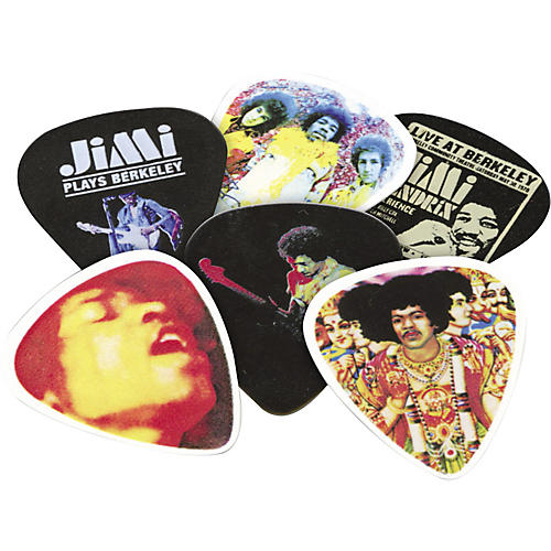Dunlop Jimi Hendrix Pick Tin Are You Experienced