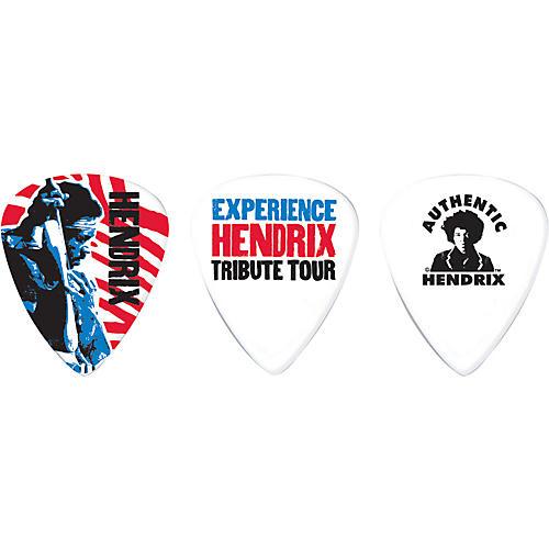 Dunlop Jimi Hendrix Tribute Tour Pick Tin with 6 Medium Picks-thumbnail