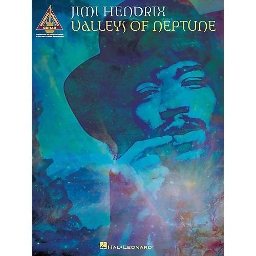 Hal Leonard Jimi Hendrix Valleys Of Neptune Guitar Tab Songbook