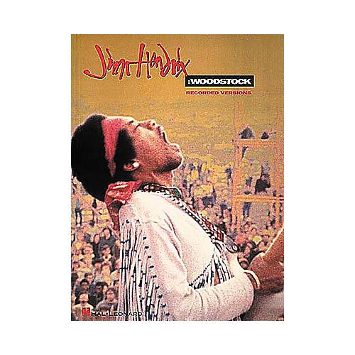Hal Leonard Jimi Hendrix Woodstock Guitar Tab Songbook