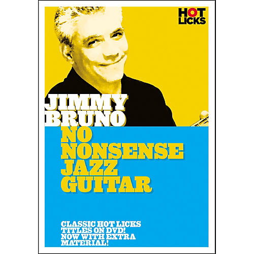Hot Licks Jimmy Bruno: No Nonsense Jazz Guitar DVD-thumbnail