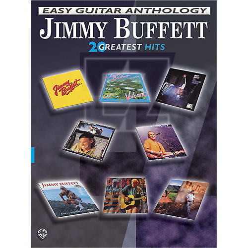 Alfred Jimmy Buffett Easy Guitar Anthology-thumbnail