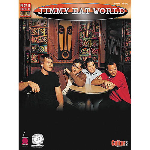 Cherry Lane Jimmy Eat World Guitar Tab Songbook-thumbnail