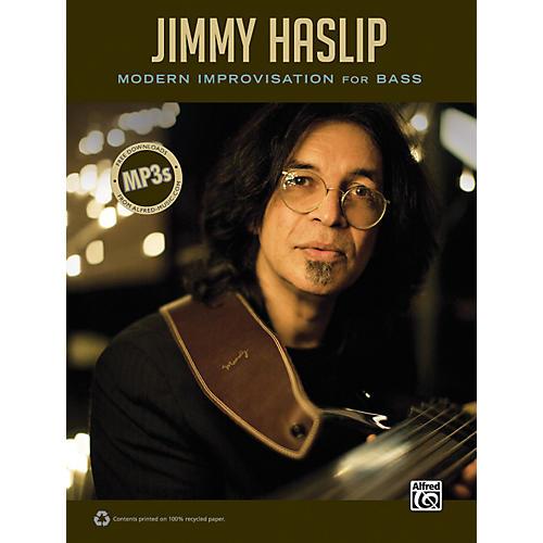 Alfred Jimmy Haslip Modern Improvisation for Bass Book