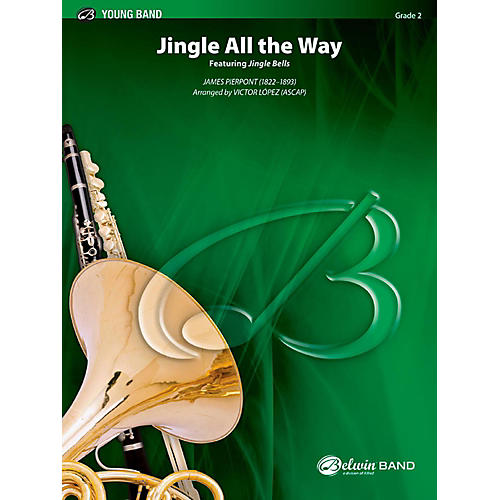 BELWIN Jingle All the Way Concert Band Grade 2 (Easy)