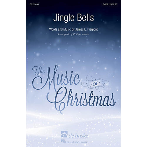De Haske Music Jingle Bells SATB arranged by Philip Lawson
