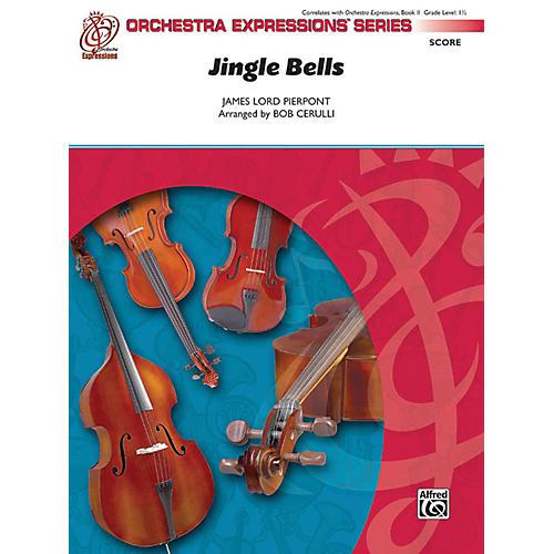 Alfred Jingle Bells String Orchestra Grade 1.5-thumbnail