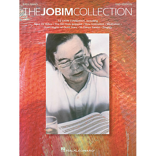 Hal Leonard Jobim Collection - 16 Latin Standards For Easy Piano-thumbnail